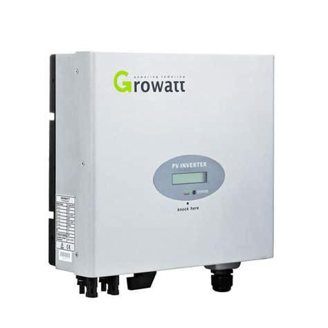 3 Mppt Inverter by Growatt 3000 Single Mppt 3 Kw Solar Inverter Growatt
