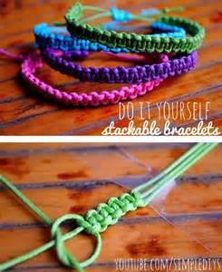 Make Macramé Cord Bracelet Patterns Home - best 25 square knot bracelets ideas on knot