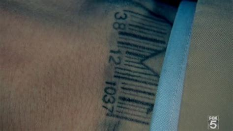 barcode tattoo satanic which one of these was your favorite tattoo on michael