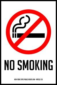 no smoking sign nyc no smoking laws for all fifty states signs com blog