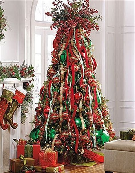 ribbon tree topper christmas pinterest