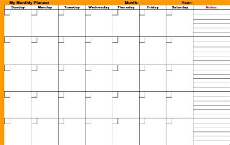 free monthly calendar planner printable online printable planners download for effective time management
