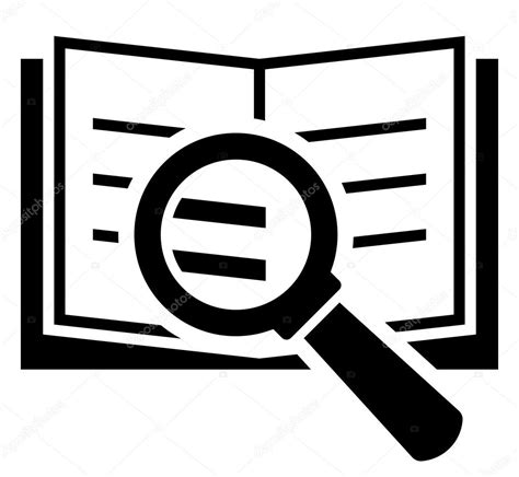 Book Search Book Search Icon Stock Vector 169 Furtaev 43080715