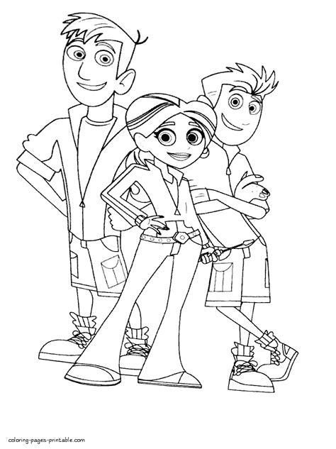 coloring pages of wild kratts wild kratts protagonists coloring pages coloring and