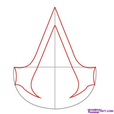 how to drawl a how to draw assassins creed step by step characters pop culture free