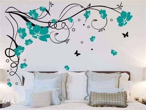wall painting ideas for bedroom home design