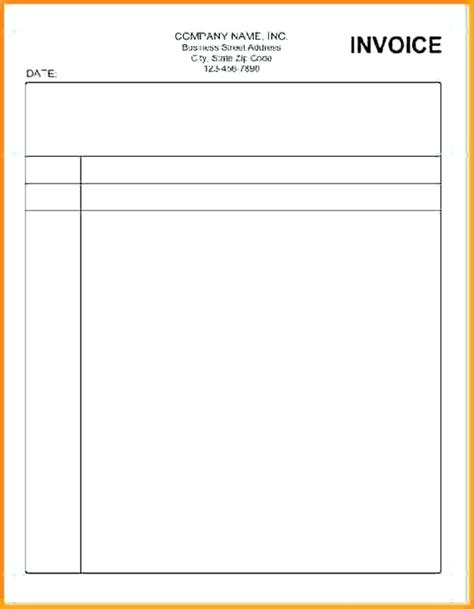 free printable blank invoice template blank printable invoice free printable blank invoice