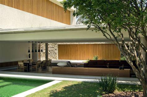 brazilian modern concrete house interiorzine