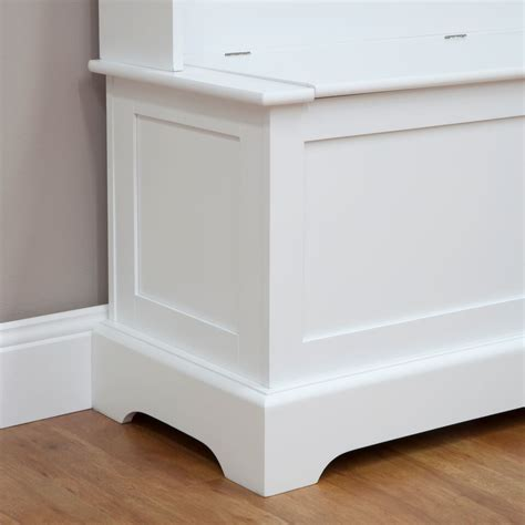 hall stand with bench hall stand with hooks and storage bench white