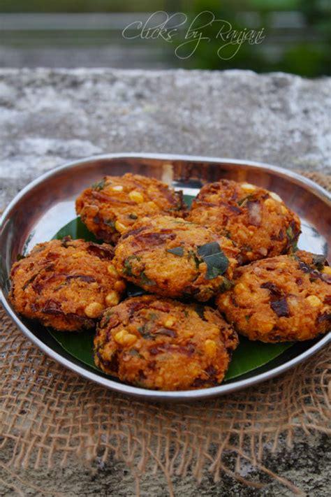 Raks Kitchen Masala Vada by Masala Vada Recipe Paruppu Vada Ranjani S Kitchen