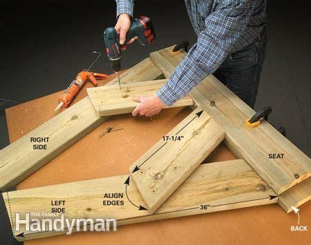 aldo leopold bench design build a wooden bench for less