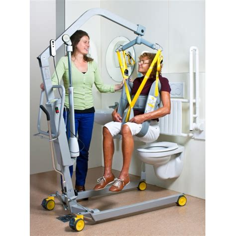 Change Bath To Shower mobile hoist 1641 handi move