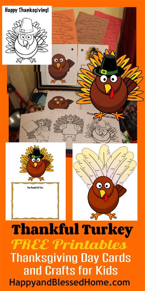 free printable thanksgiving day crafts free printable thanksgiving day cards and crafts for kids