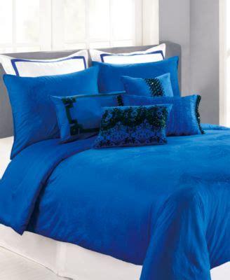 nanette lepore bedding closeout nanette lepore villa peacock cobalt comforter