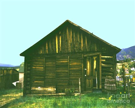 original miners cabin frisco colorado photograph by merton