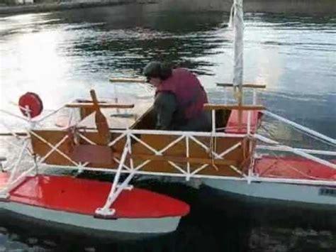 home built pontoon boat homemade pontoon boat plans homemade pontoon boat in namsos youtube