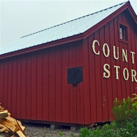 16x20 barn country store exterior