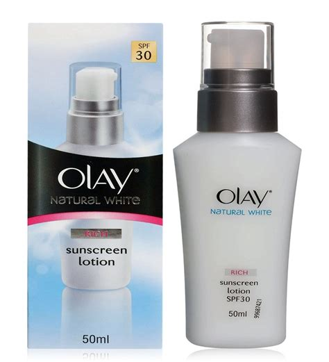 olay white rich sunscreen lotion spf 30 by olay