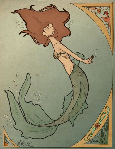 Deco Mermaid L by 301 Moved Permanently