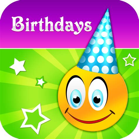 Birthday Calendar App Never Forget To Send A Birthday Greeting With Birthday