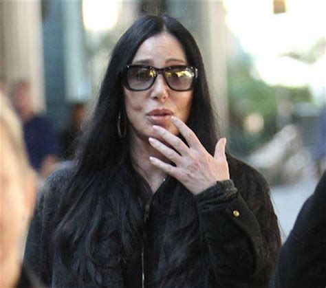 No Make Up Leaves Cher Looking Just Like Ozzy Osbourne by Cher Without Makeup No Makeup Pictures