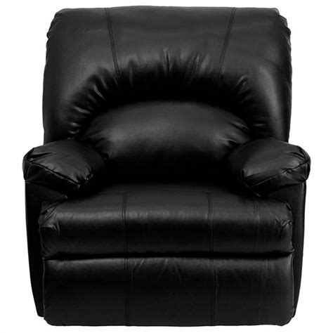 black leather rocker recliner contemporary apache black leather rocker recliner wm