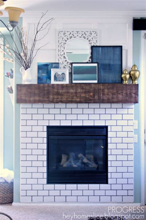 subway tile fireplace 20 best ideas about subway tile fireplace on