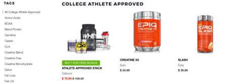 creatine ncaa athlete approved supplements cusprotein