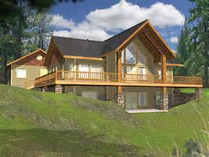 hillside cabin plans house plans home plans and floor plans from ultimate plans