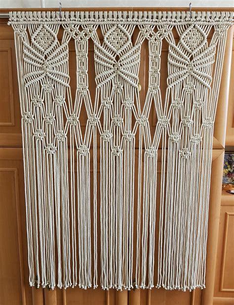 cortina hippie macrame wall hanging hippie curtain macrame curtain boho