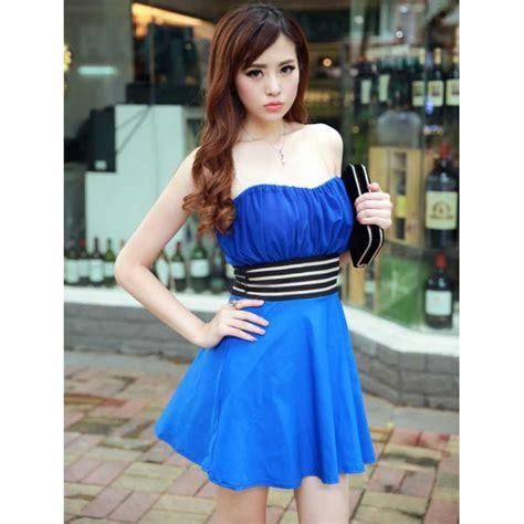 Mini Dress By Shopping Dulu mini dress model kemben d1459 moro fashion