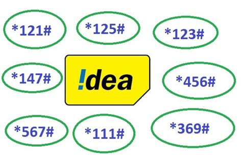 Mba Coding Work Balance by Idea Cellular All Ussd Code To Check Balance Offer Plan