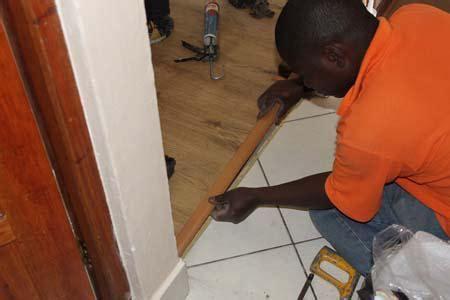 HOME DZINE Home Improvement   How to install laminate flooring