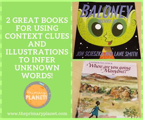 picture books to teach context clues primary planet