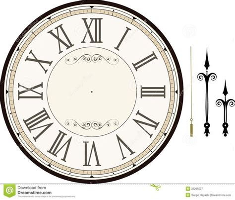 printable antique clock face designs best 25 clock face printable ideas on pinterest clock