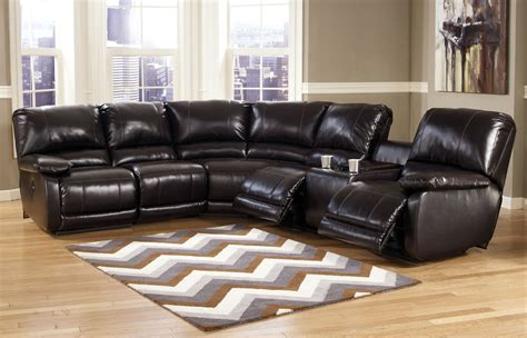 ashley furniture leather sofa capote 4 pc power reclining sectional ashley furniture