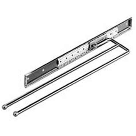 Kitchen Towel Rail Chrome Pull Out Kitchen Towel Rail From The Hardware