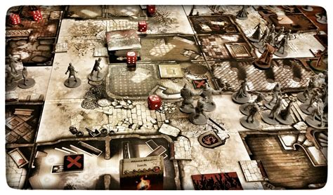 Zombicide Black Plague Board Original Boardgame zombicide black plague board ebay