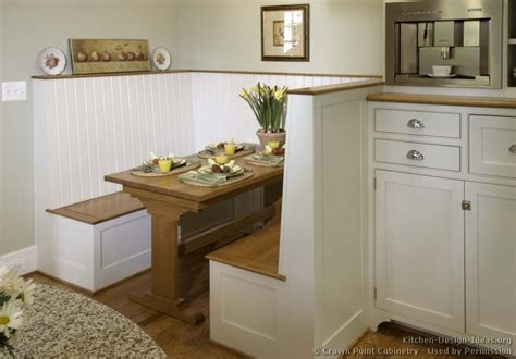 breakfast nook cabinets cottage kitchens photo gallery and design ideas