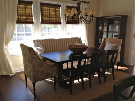 Sofa In Dining Room by Custom Dining Set Traditional Dining Room Los