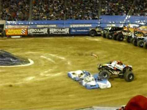 nitro circus monster truck backflip first monster truck backflip