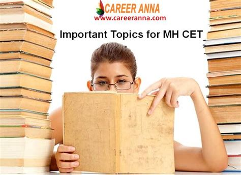 Mh Cet Mba Colleges by Important Topics For Mh Cet For Mba Colleges Career