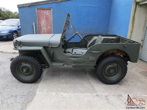 Jeep 1945 For Sale 1945 Willys Mb Ww2 Jeep Gpw Winter Project