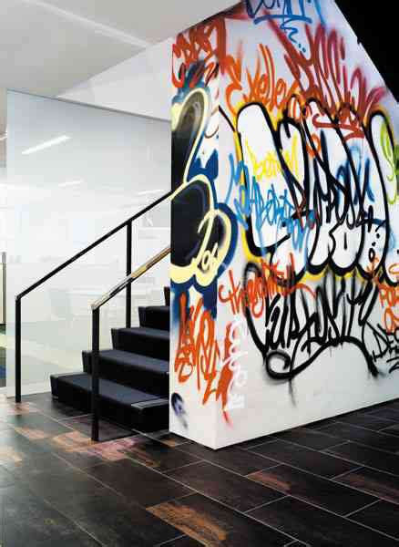 gorgeous graffiti wall interior inspirations