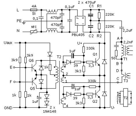 schemi alimentatori switching schema elettrico alimentatore atx fare di una mosca
