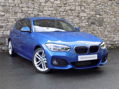 Bmw 1 Series Estoril Blue M Sport by 2017 17 Bmw 1 Series 118d M Sport 5 Door Auto