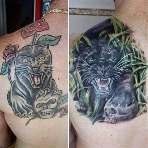 panther cover up tattoo designs 60 cover up ideas for before and after designs