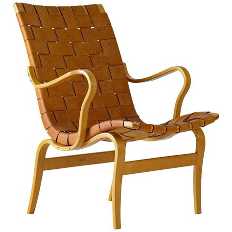 bruno mathsson leather quot quot lounge chair for sale at 1stdibs