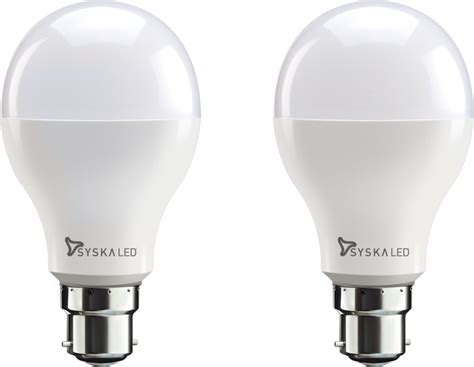 Price Of Led Light Bulbs Syska Led Lights 18 W B22 Led Bulb Price In India Buy Syska Led Lights 18 W B22 Led Bulb