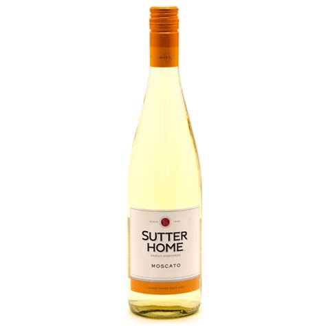sutter home moscato 750ml wine and liquor